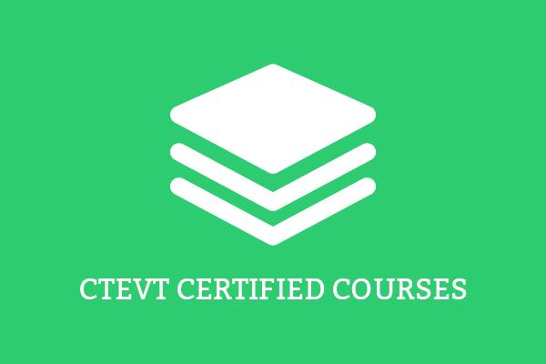 CTEVT Courses